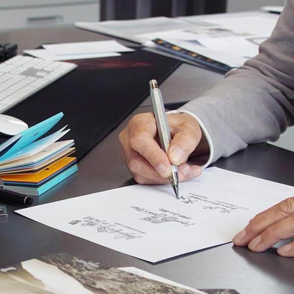 Druckerei Heller Media AG in Muri AG gestaltet Drucksachen