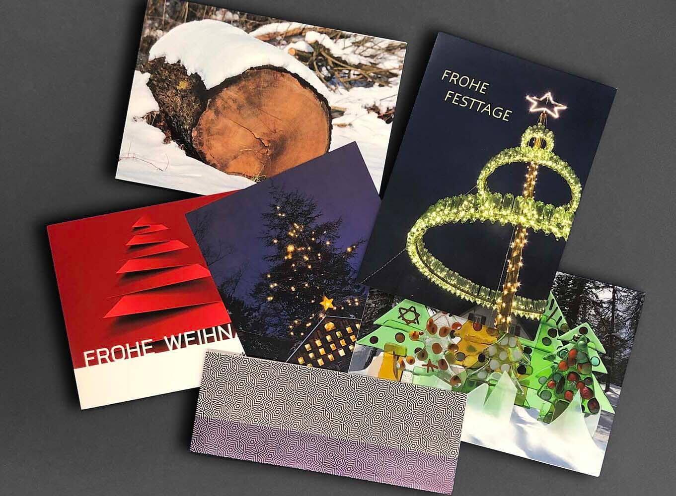 Weihnachtskarten Neujahrskarten