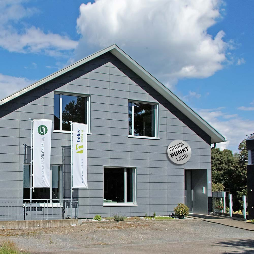 Standort Heller Media AG - Lindenbergstrasse 5 5630 Muri AG